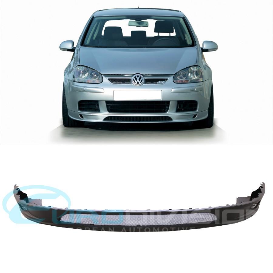 vw golf mkv abt style front bumper lip euro division your. Black Bedroom Furniture Sets. Home Design Ideas