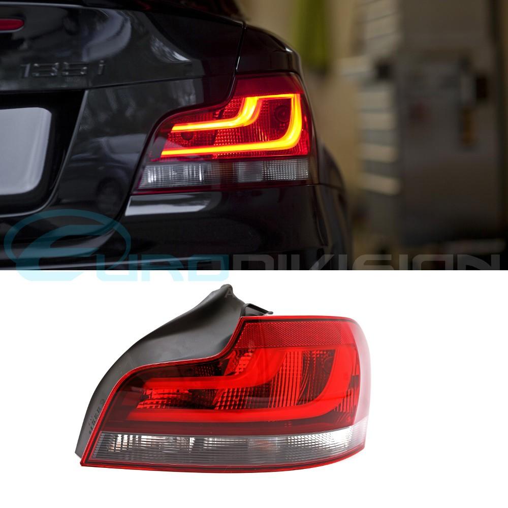 BMW Genuine E82 / E88 Blackline LCI Style Tail Lights 125i