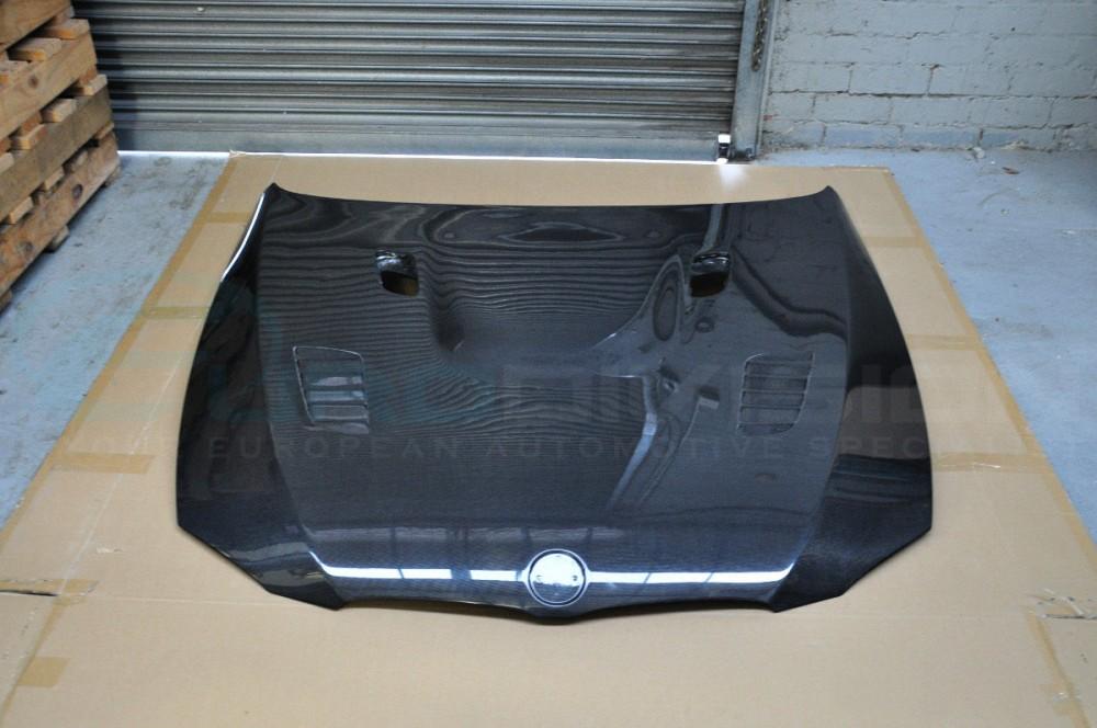 Bmw Carbon Fiber Gt Style Bonnet E90 E92 E93 M3 Fitment Hood