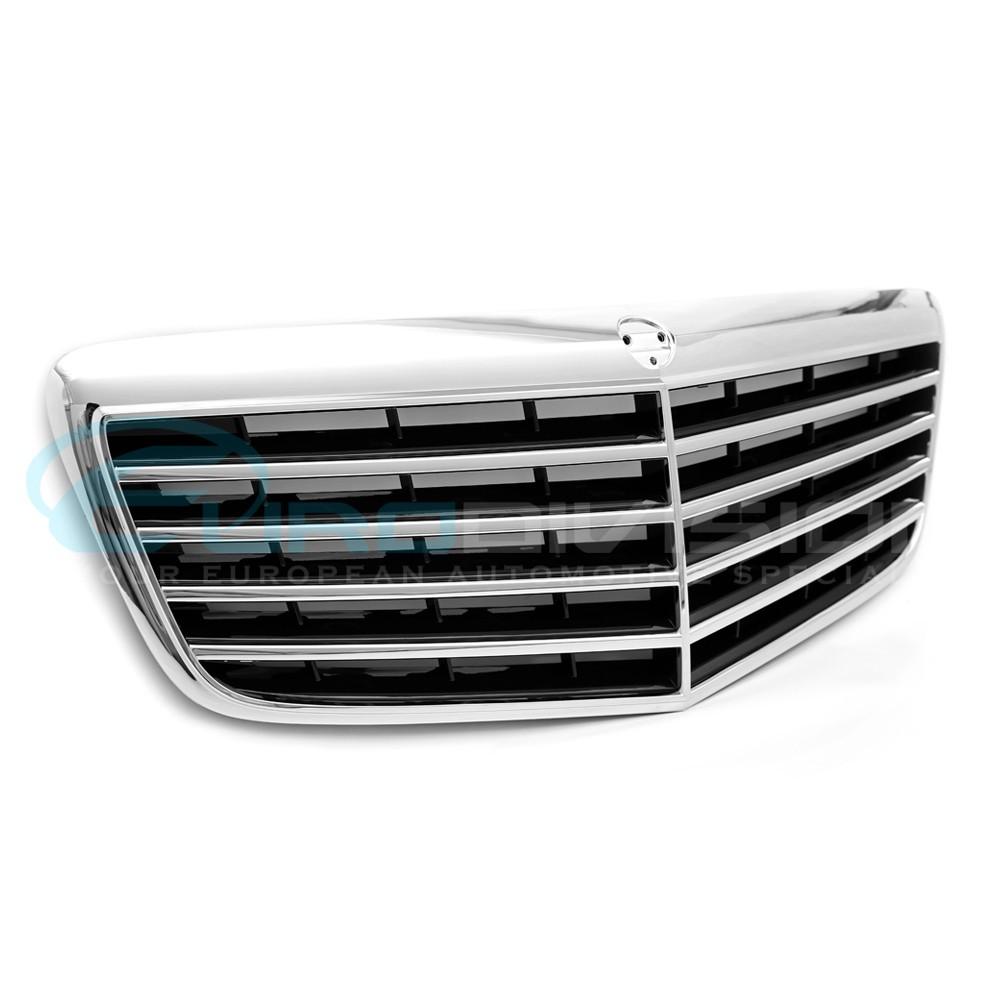 Mercedes E Class W211 Facelift Amg Front Grille Euro Division Your European Automotive