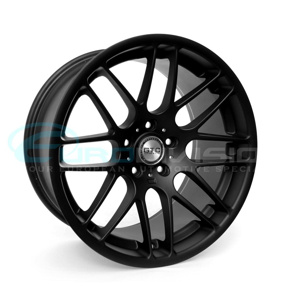 "GTC Wheels GT-CS 18"" X 9.5 ET33 Matte Black BMW / Holden"