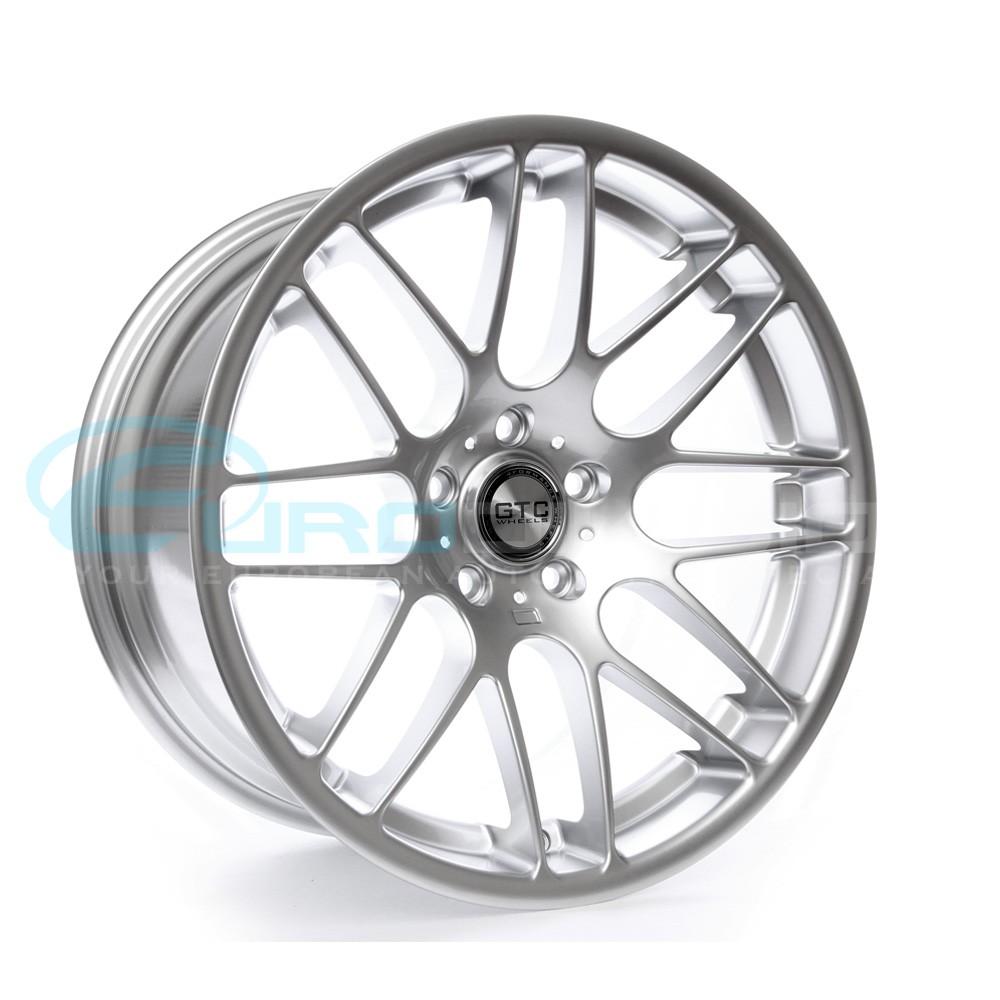 """GTC Wheels GT-CS 19""""x10 ET38 Super Silver BMW / Holden CSL"""