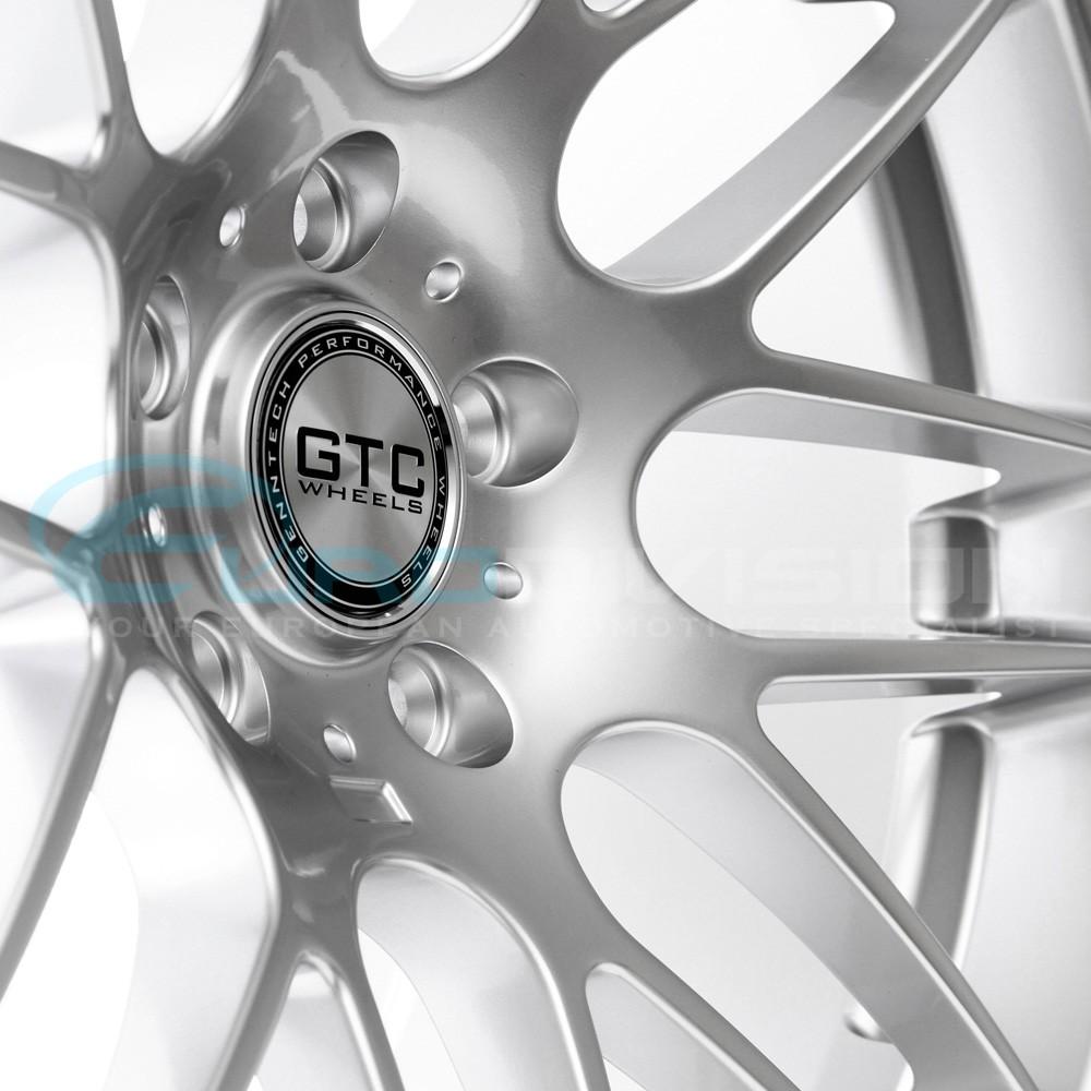 """GTC Wheels GT-CS 19""""x9.5 ET45 Super Silver BMW / Holden"""