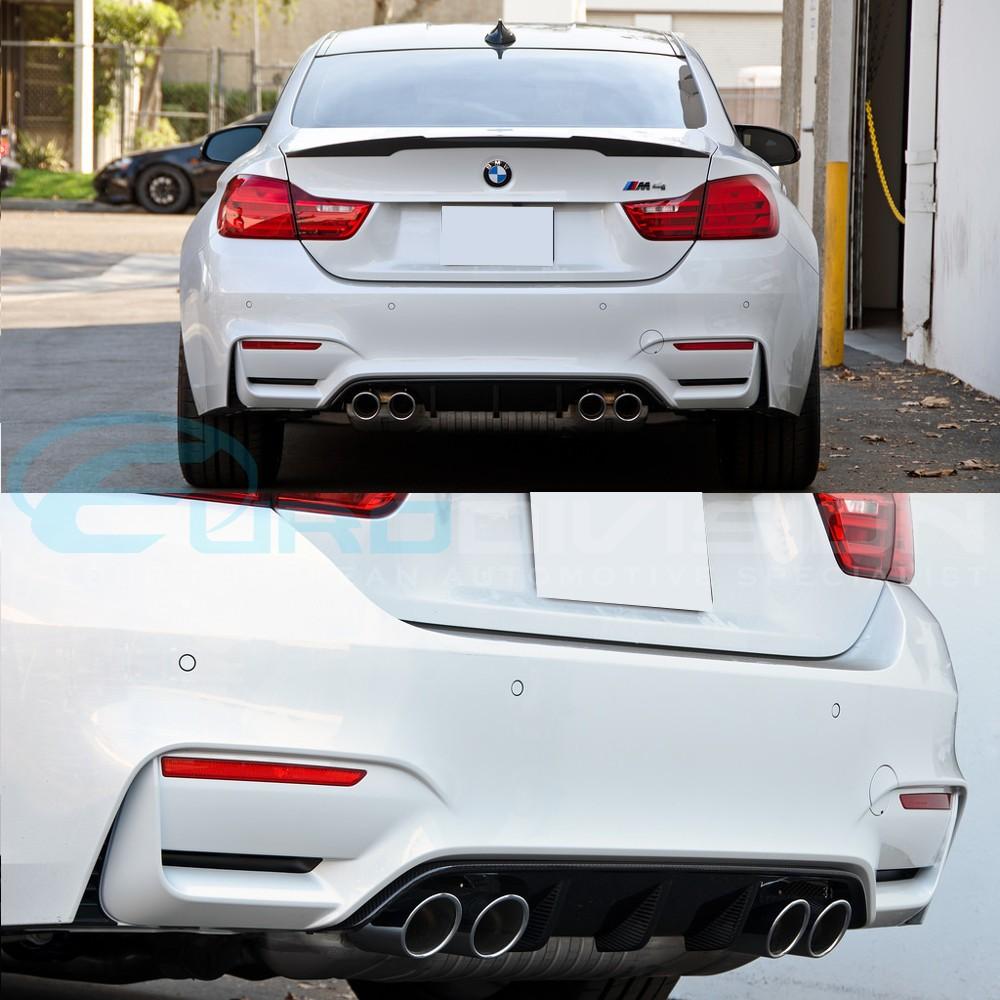 M Performance Style Carbon Fibre Rear Diffuser BMW F80 M3