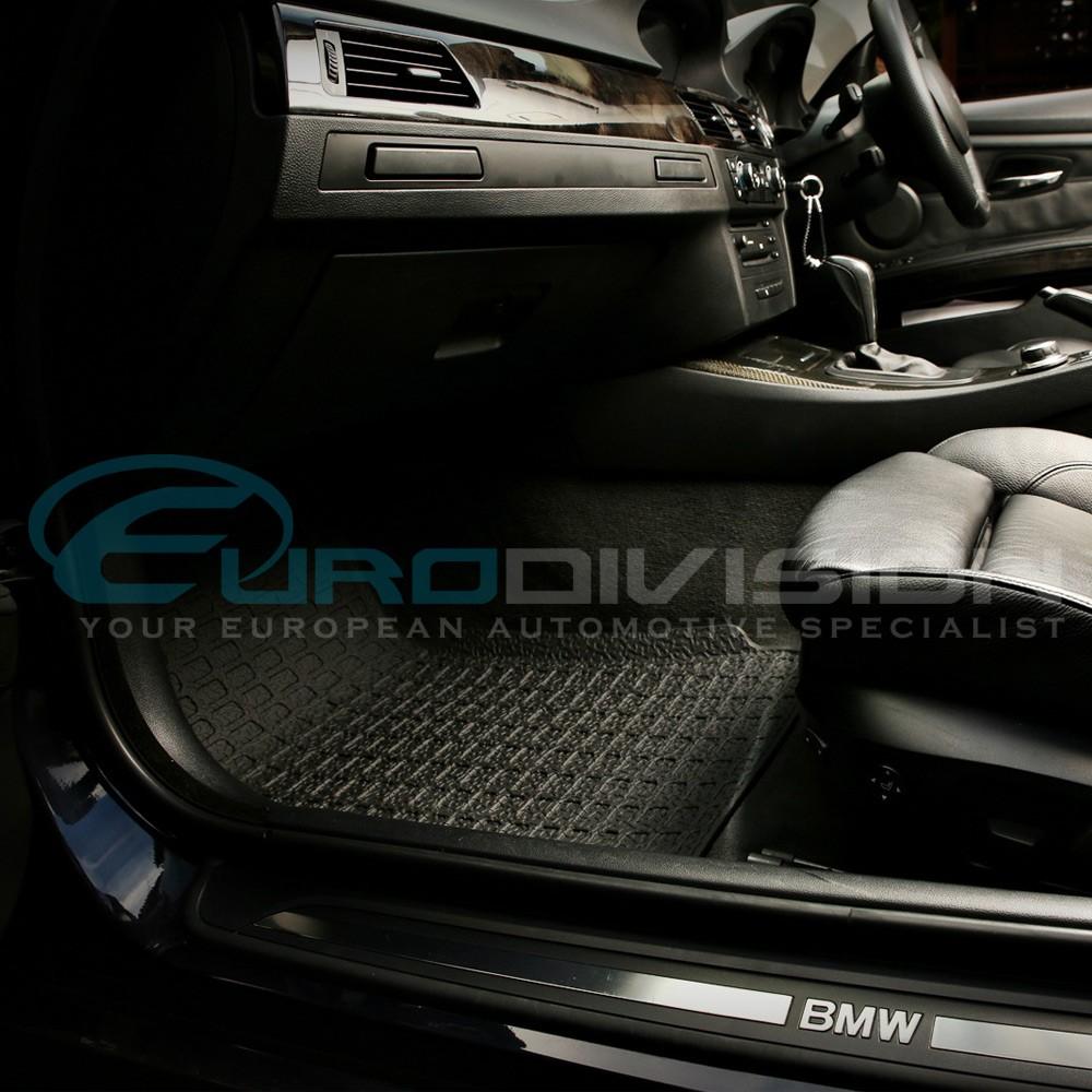 Bmw rubber floor mats e90 - Bmw 3 Series E90 3d Rubber Floor Mats Custom Made Euro Division