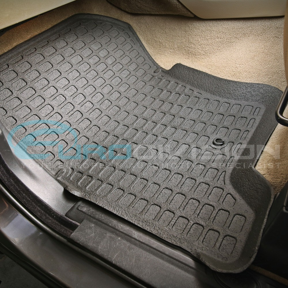 Land rover discovery 3 rubber interior floor mats