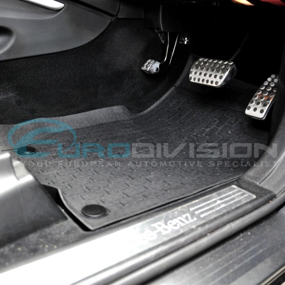 Mercedes ml class w166 3d rubber floor mats custom for Mercedes benz ml350 rubber floor mats