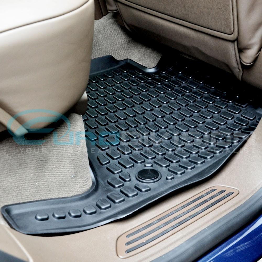 Porsche Cayenne 2010+ Rubber Interior Floor Mats