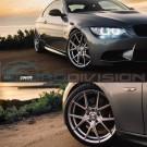 """GTC Wheels AFF-1 Gloss Silver 19"""" BMW 4 Series F32 F33 F36 Fitment"""