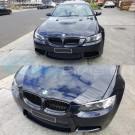 BMW 3 Series E92 Coupe / E93 Convertible Pre-LCI MATTE Black Front Kidney Grilles