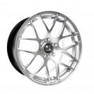 """GTC Wheels GT-CX 19"""" Staggered Hyper Silver BMW 3 Series E90 E91 E92 E93 Fitment"""