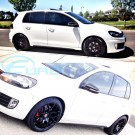 "GTC Wheels GT-CX 18"" Gloss Black VW Golf MK5 / MK6/ MK7 Fitment"