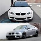 V Style Carbon Fibre Front Lip for BMW E90 M3 Style SEDAN Front Bumper