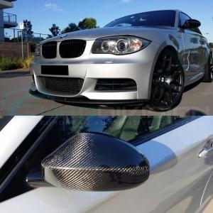 BMW 1 Series E82 Coupe / E88 Convertible / E87 Hatchback Pre-LCI Carbon Fibre Mirror Covers
