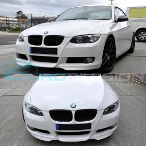 BMW Aero Style Plastic Front Lip E92 / E93 Pre-LCI Front Bumper Fitment