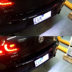 Volkswagen Golf MKVI License Plate Lights Premium White Error Free LED Bulbs GTI R TDI FSI GTD