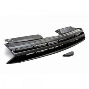 VW Golf MK6 Badgeless Style Black Front Bumper Grille