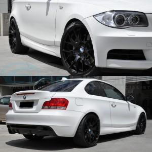 "GTC Wheels GT-CR 19"" Square Gloss Black BMW 1 Series E82 / E88 / E87 Fitment"