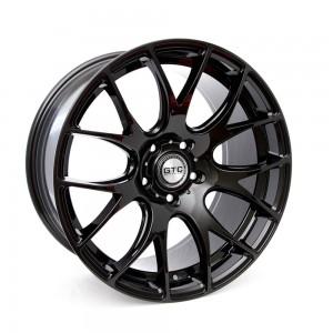 "GTC Wheels GT-CR 19"" Staggered Gloss Black BMW 1 Series E82 / E88 / E87 Fitment"