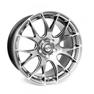 """GTC Wheels GT-CR 19"""" Square Hyper Black BMW 1 Series E82 / E88 / E87 Fitment"""