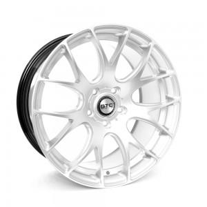 """GTC Wheels GT-CR 19"""" Square Hyper Silver BMW 1 Series E82 / E88 / E87 Fitment"""