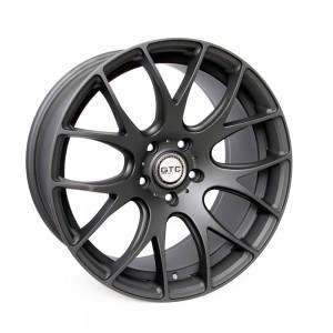 "GTC Wheels GT-CR 19"" Staggered Matte Anthracite BMW 1 Series E82 / E88 / E87 Fitment"
