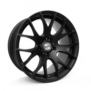 "GTC Wheels GT-CR 19"" Staggered Matte Black BMW 1 Series E82 / E88 / E87 Fitment"