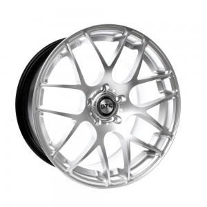 "GTC Wheels GT-CX 19"" Square Hyper Silver BMW 3 Series E46 Coupe / Sedan / Convertible Fitment"