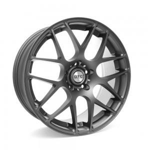 "GTC Wheels GT-CX 18"" Staggered Matte Anthracite BMW 1 Series E82 / E88 / E87 Fitment"