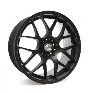 "GTC Wheels GT-CX 18"" Square Matte Black BMW 3 Series E46 Coupe / Sedan / Convertible Fitment"