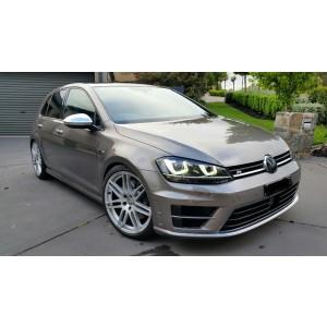 """GTC Wheels GT-RS 18"""" VW Volkswagen Golf MK5 6 7 RS4 Style Wheels Hyper Silver"""