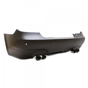 BMW M5 Style Rear Bumper E60 Sedan Fitment 03-07 + Quad Muffler System *CLICK & COLLECT ONLY*