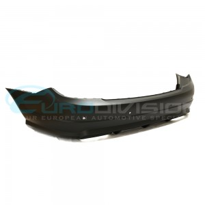 Mercedes AMG Style Rear Bumper C Class W204 Sedan Fitment Single Exhaust Outlet + No Sensor Holes *CLICK & COLLECT ONLY*