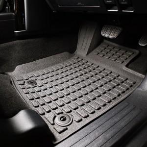 Toyota Land Cruiser Prado 150 Series Rubber Interior Floor Mats & Cargo Liner COMBO 2009 - 2013