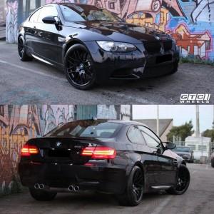 """GTC Wheels GT-CS 19"""" Staggered Matte Black BMW 4 Series F32 F33 F36 420 428 430 435 440"""
