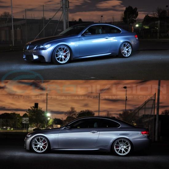 "GTC Wheels AFF-1 Gloss Silver 18"" VW Golf MK5 / MK6 / MK7 Fitment"