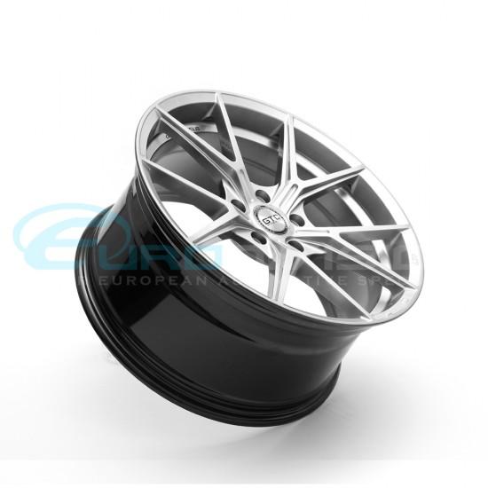 "GTC Wheels AFF-1 Gloss Silver 19"" BMW 3 Series E90 E91 E92 E93 Fitment"