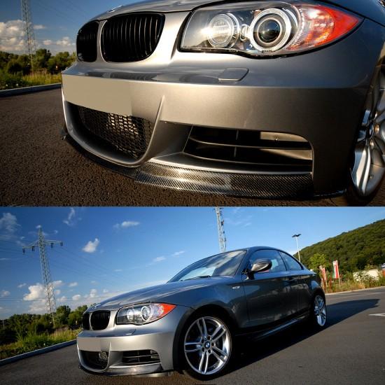 BMW 1 Series E82 Coupe / E88 Convertible Carbon Fibre Performance Front Lip M-Sport Bumper Fitment