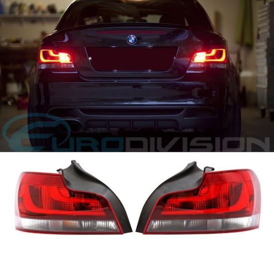 BMW Genuine E82 / E88 Blackline LCI Style Tail Lights 125i 135i