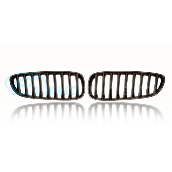 BMW Z Series E85 / E86 Z4 Matte Black Front Grilles