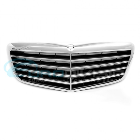Mercedes E Class W211 Facelift AMG Style Front Grille
