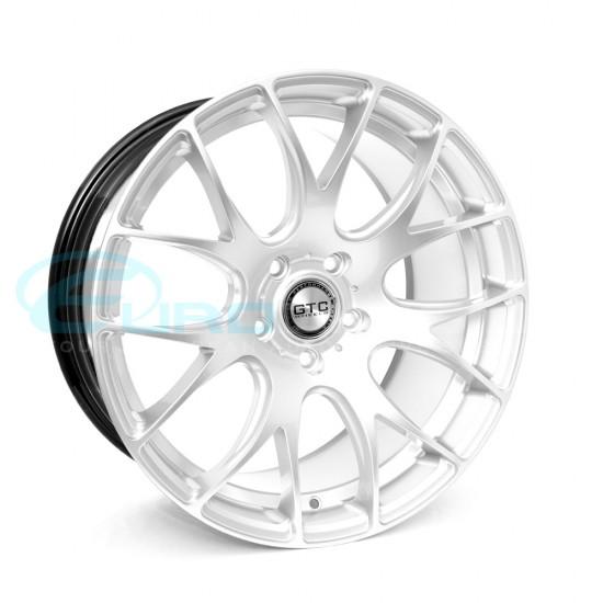 "GTC Wheels GT-CR 19"" Staggered Hyper Silver BMW 1 Series E82 / E88 / E87 Fitment"