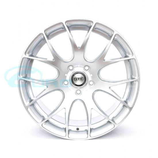 "GTC Wheels GT-CR 19"" Square Hyper Silver BMW 3 Series E46 Coupe / Sedan / Convertible Fitment"