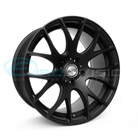 "GTC Wheels GT-CR 19"" Matte Black Audi A4 / A5 Fitment"