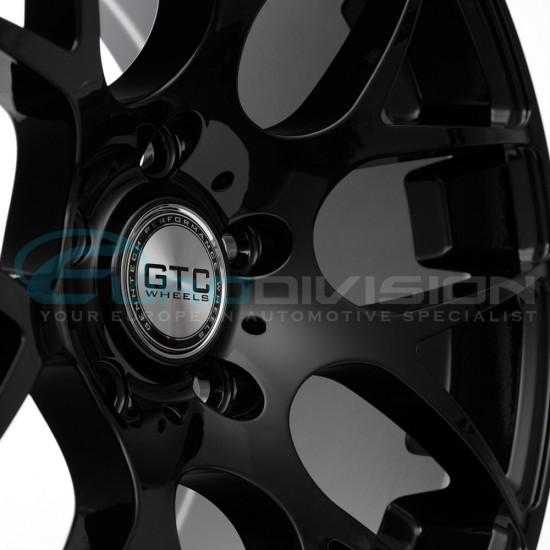 "GTC Wheels GT-CX 19"" Square Gloss Black BMW 3 Series E46 Coupe / Sedan / Convertible Fitment"