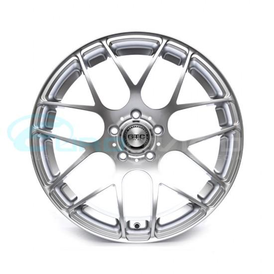 """GTC Wheels GT-CX 18"""" Staggered Hyper Silver BMW 1 Series E82 / E88 / E87 Fitment"""