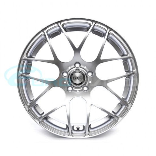 "GTC Wheels GT-CX 18"" Staggered Hyper Silver BMW 3 Series F30 Fitment"