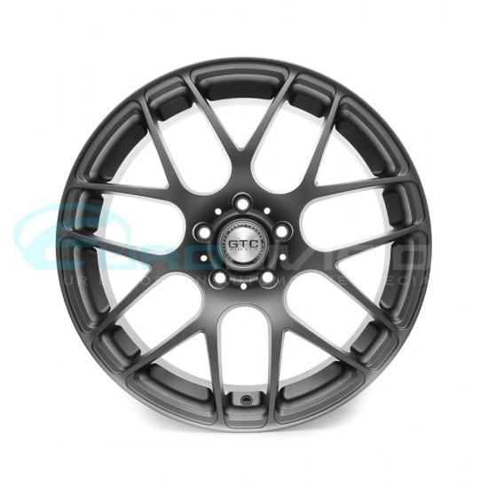 """GTC Wheels GT-CX 18"""" Square Matte Anthracite BMW 1 Series E82 / E88 / E87 Fitment"""