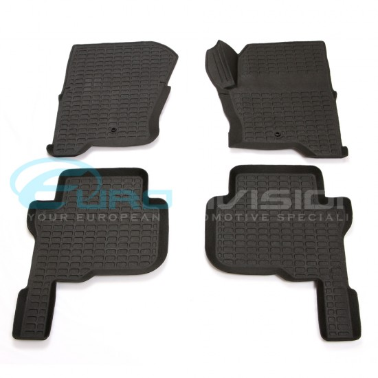 Land Rover Discovery 4 Rubber Interior Floor Mats