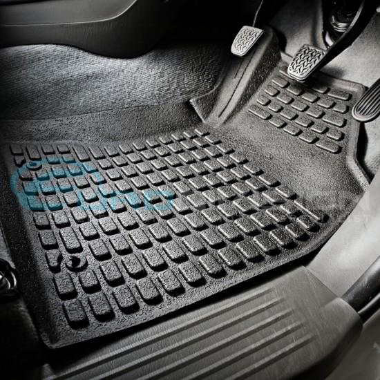 Toyota Hilux 2005 - 2011 SR SR5 Rubber Interior Floor Mats